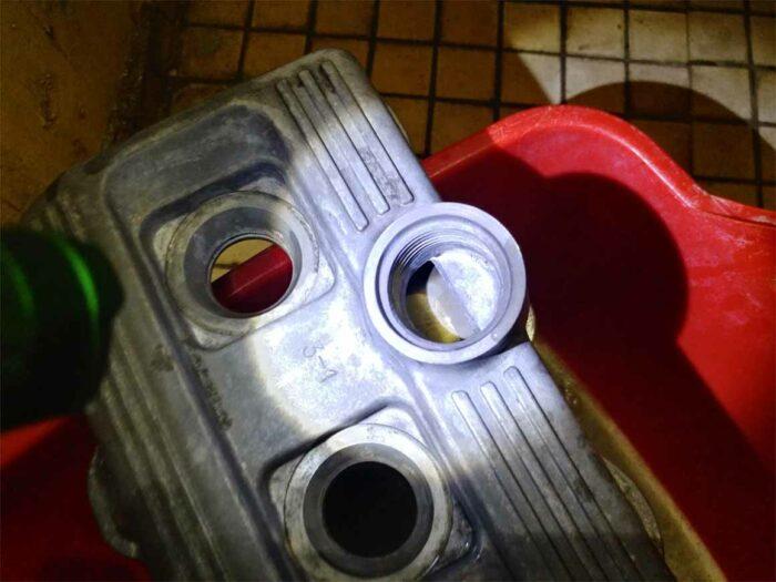 Чистая клапанная крышка в сборе Toyota Corona ST195 3S-FE 3SFE
