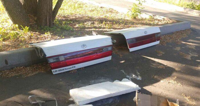 Toyota Corona ST195 ST190 ST191 AT190 AT191 крышка багажника кузовные детали 1.8 Select Sallon G
