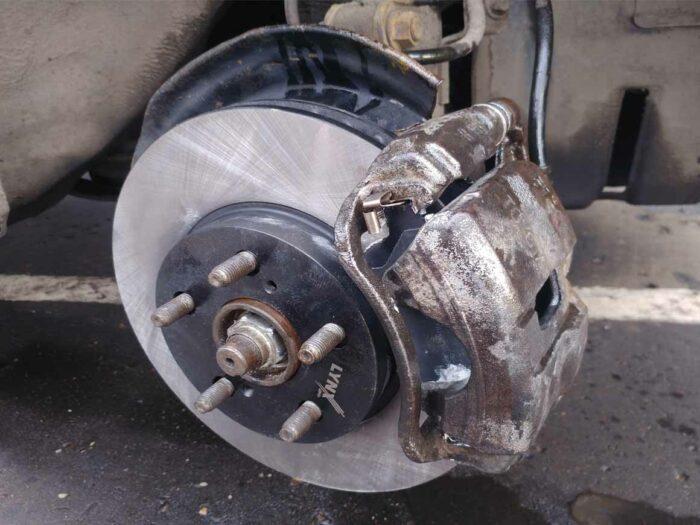тормоз суппорт LynxAuto Lynx диск тормозной вентилируемый 255 Toyota Corona ST195 передние тормоза