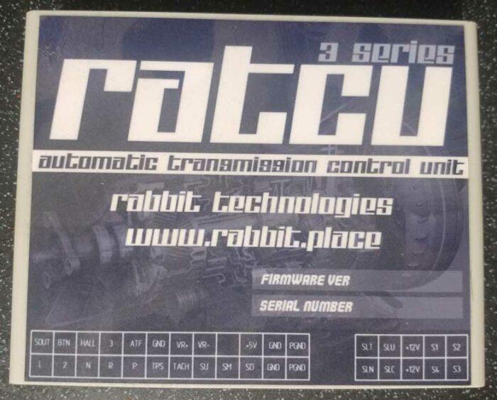 Блок управления АКПП эбу автоматом автоматическая коробка передач кастом custom RATCU RABBIT Technologies toyota Corona ST195