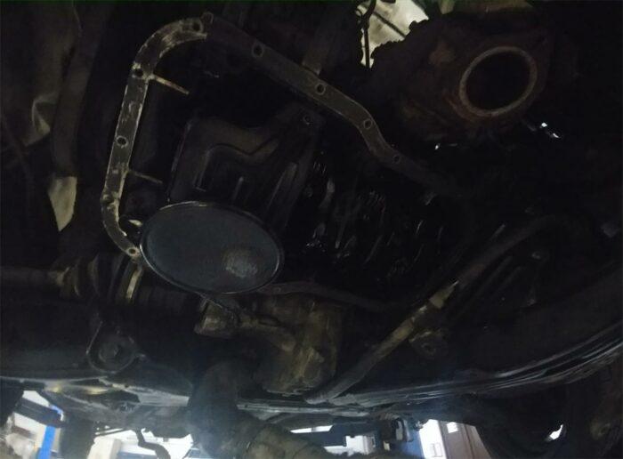 3S_FE 3S 3S-FE снятый поддон раздаточная коробка передач фильтр коленвал масло Toyota Corona ST195 a540H