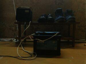 Зарядка АКБ AGM EXIDE 60 A h Тренировочное зарядное устройство