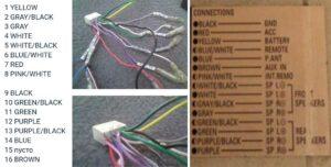 распиновка схема разъёма схема подключения распиновка разъёма проводов DENON DCT-R1 denon dct r 1 r1 денон дцт-р1 дцт р1