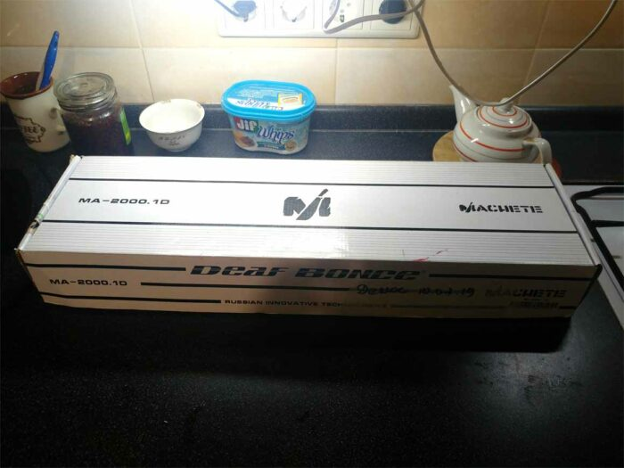 Усилитель Alphard Machete MA-2000.1D в коробке