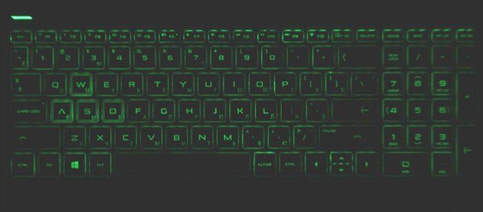 Подсветка клавиатуры Hp Pavilion Gaming