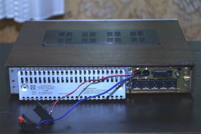 Тюнинг усилителя Радиотехника У101