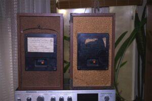 Сателлит аудиосистемы Орбита 50АС-125 и усилитель Радиотехника У101