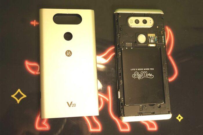 Потрёпанный, но живой смартфон LG V20