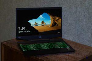 HP Pavilion 15-DK1043UR Intel Core i7 10750H GTX 1660 TI MAX-Q 6 GB